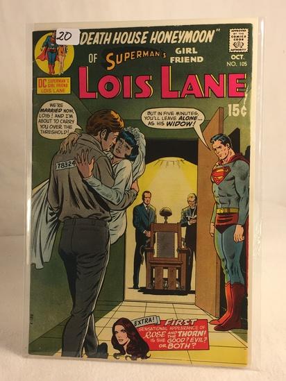 Collector Vintage DC Comics Superman's Girlfriend Lois Lane Comic Book No.105