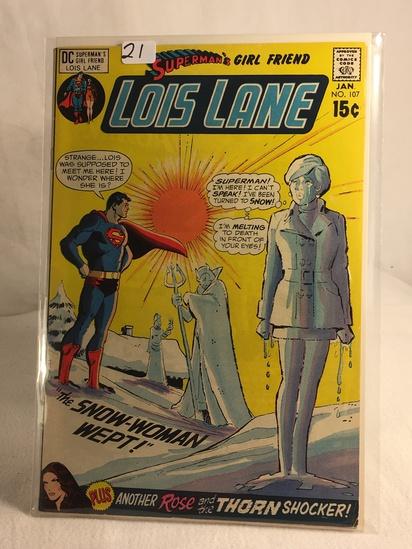 Collector Vintage DC Comics Superman's Girlfriend Lois Lane Comic Book No.107