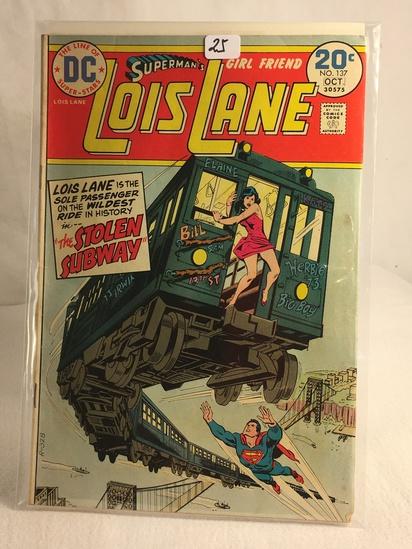 Collector Vintage DC Comics Superman's Girlfriend Lois Lane Comic Book No.137