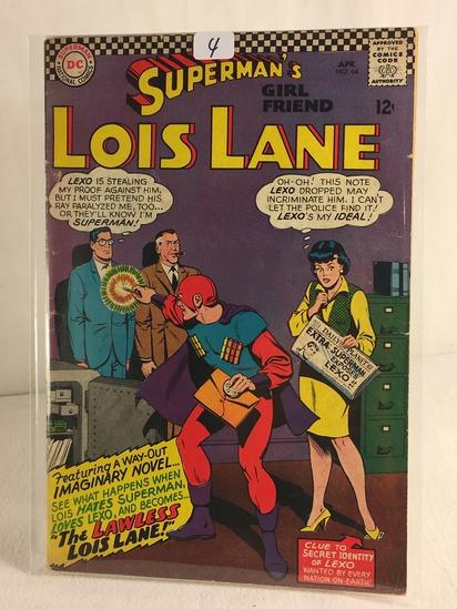Collector Vintage DC Comics Superman's Girlfriend Lois Lane Comic Book No.64