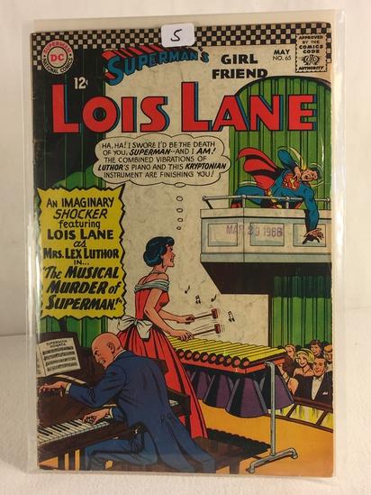 Collector Vintage DC Comics Superman's Girlfriend Lois Lane Comic Book No.65