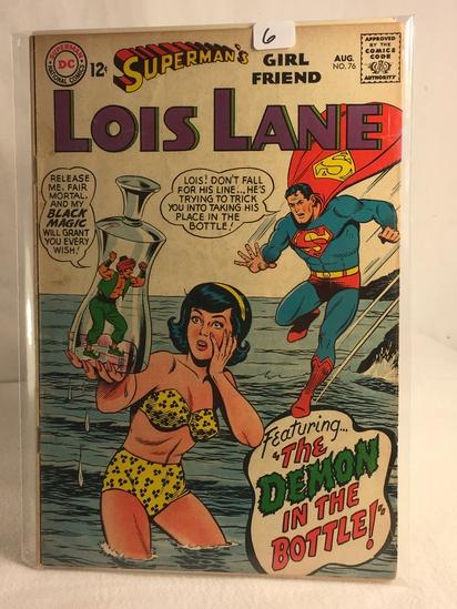 Collector Vintage DC Comics Superman's Girlfriend Lois Lane Comic Book No.76