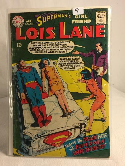 Collector Vintage DC Comics Superman's Girlfriend Lois Lane Comic Book No.82