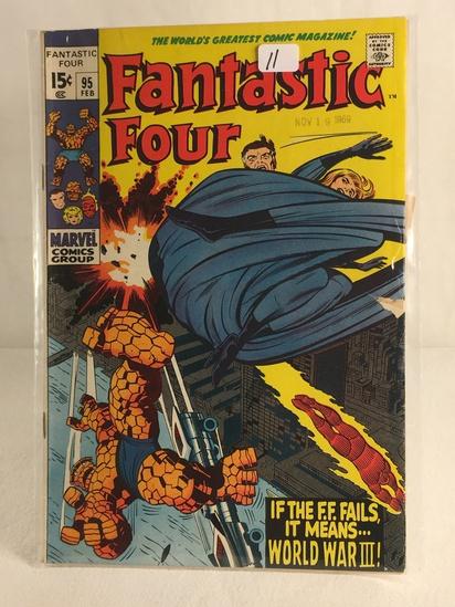 Collector Vintage Marvel Comics Fantastic Four Comic Book No.95