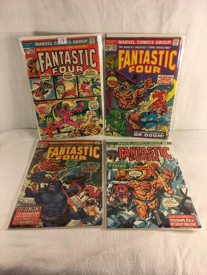Lot of 4 Pcs Collector Vintage Marvel Comics Fantastic Four Comic Book No.140.143.45.146