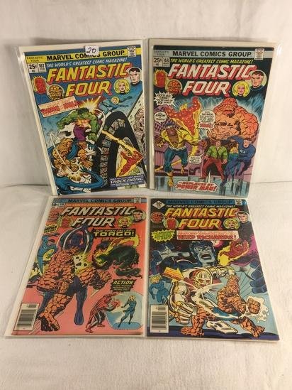 Lot of 4 Pcs Collector Vintage Marvel Comics Fantastic Four Comic Book No.167.168.174.179