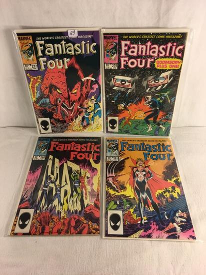 Lot of 4 Pcs Collector Vintage Marvel Comics Fantastic Four Comic Book No.277.279.280.281