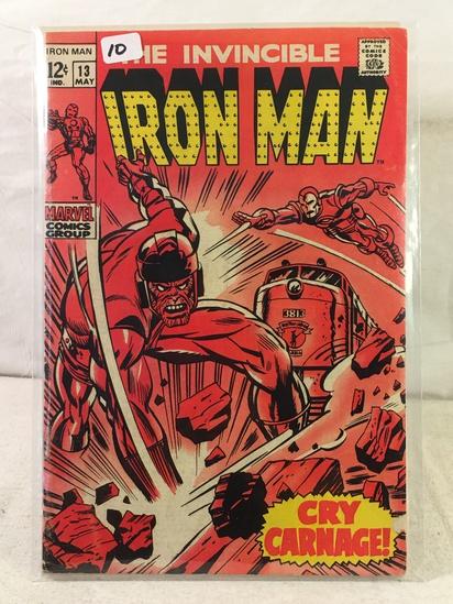 Collector Vintage Marvel Comics The Invincible IRON MAN Comic Book No.13