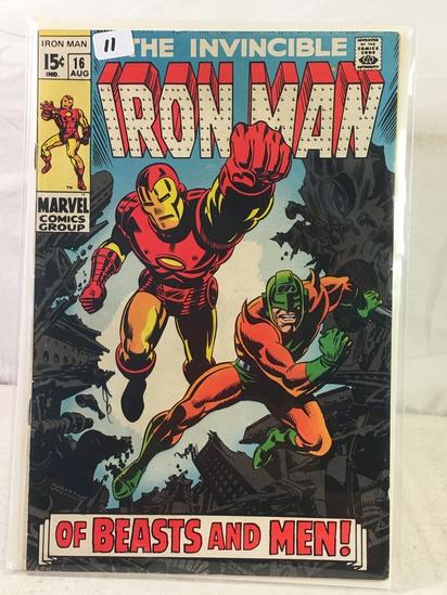 Collector Vintage Marvel Comics The Invincible IRON MAN Comic Book No.16