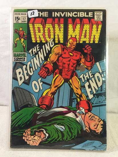Collector Vintage Marvel Comics The Invincible IRON MAN Comic Book No.17