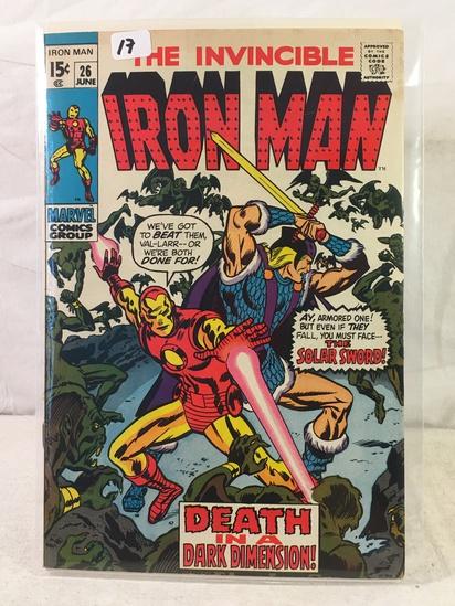 Collector Vintage Marvel Comics The Invincible IRON MAN Comic Book No.26