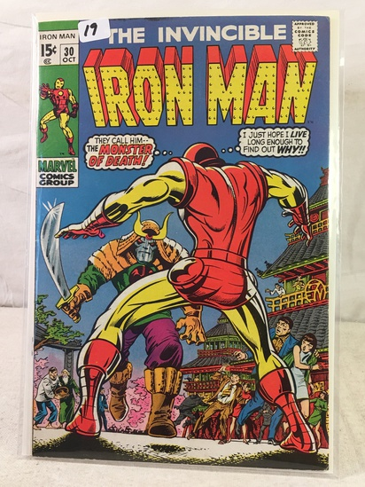 Collector Vintage Marvel Comics The Invincible IRON MAN Comic Book No.30