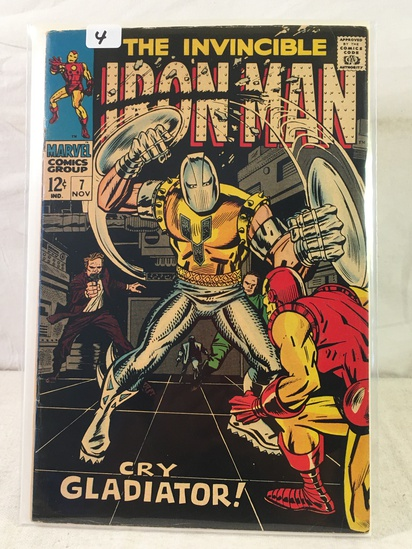 Collector Vintage Marvel Comics The Invincible IRON MAN Comic Book No.7