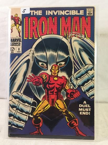 Collector Vintage Marvel Comics The Invincible IRON MAN Comic Book No.8