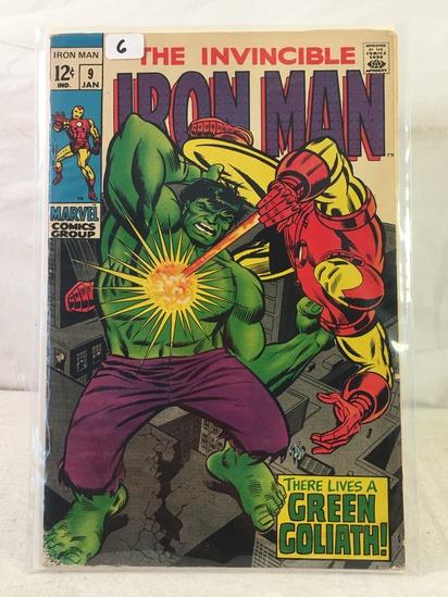 Collector Vintage Marvel Comics The Invincible IRON MAN Comic Book No.9