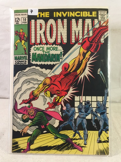 Collector Vintage Marvel Comics The Invincible IRON MAN Comic Book No.10