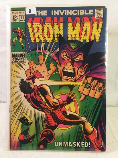 Collector Vintage Marvel Comics The Invincible IRON MAN Comic Book No.11
