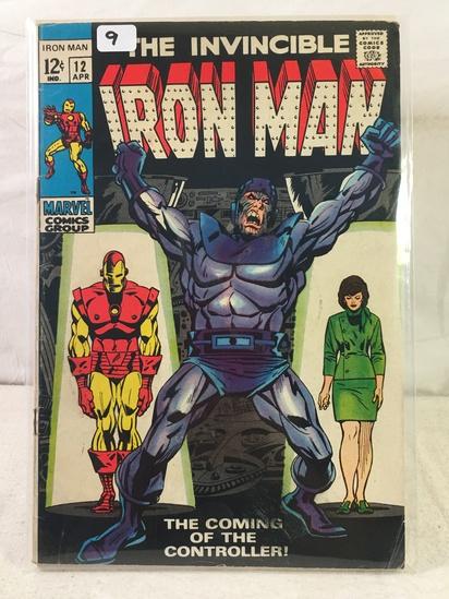Collector Vintage Marvel Comics The Invincible IRON MAN Comic Book No.12