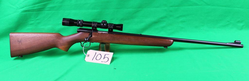 Winchester 43 22 Hornett with Redfield 1 3/4 X-5X Scope