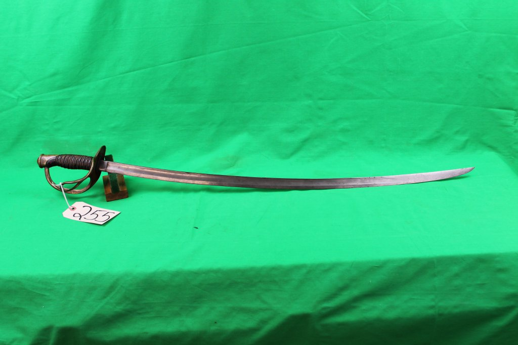 US 1860 Ames Calvalry Saber marked 1865