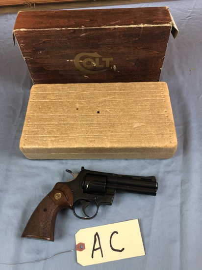 Colt, Python, 357 mag, 4 inch, With Box