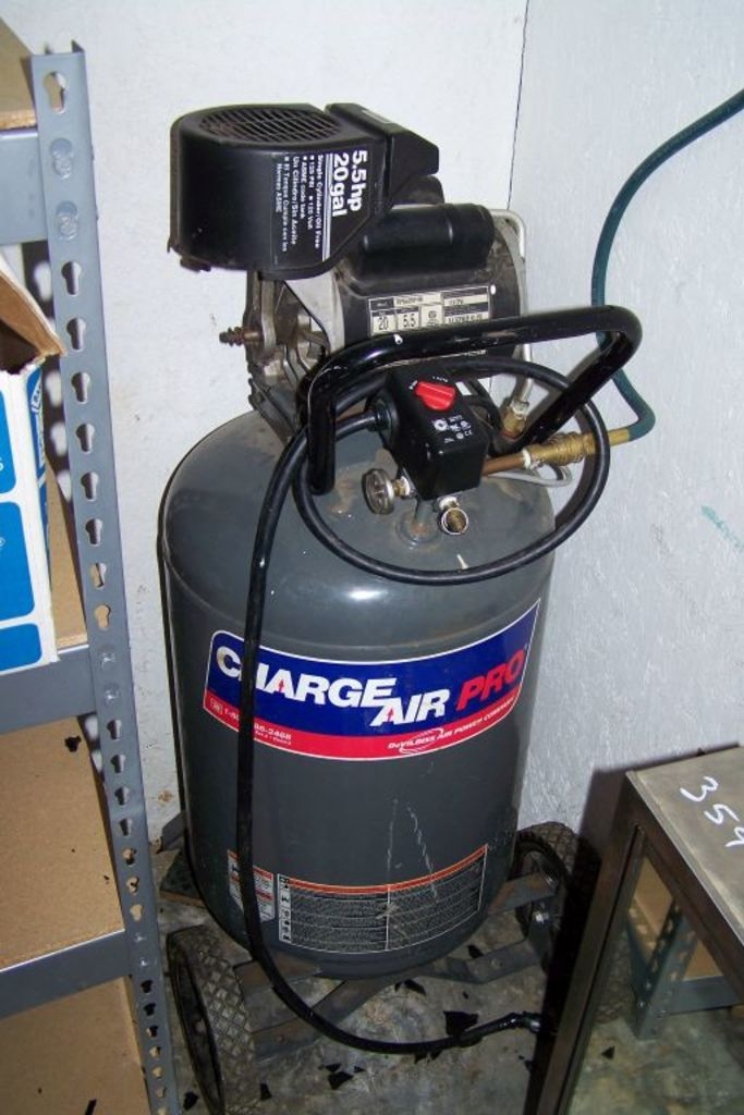 charge air pro 5 5 hp 20 gal a auctions online proxibid