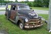 1955 CHEVROLET 3100 PANEL WAGON W/ MOTOR AND TRANSMISSION, WAS RUNNING WHEN