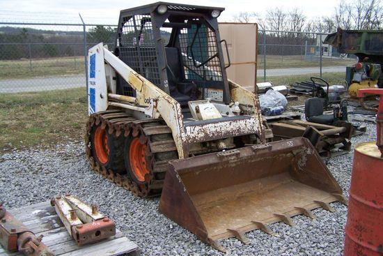 Bobcat 743b Skid Steer Diesel Auctions Online Proxibid