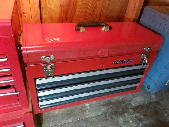 CRAFTSMAN TOOLBOX W/ CONTENT...SEE PICTURES!