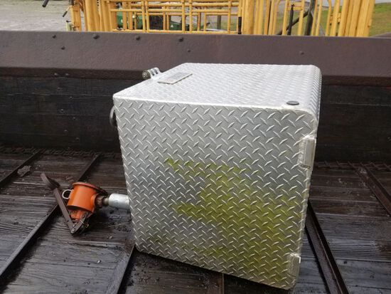TRACTOR SUPPLY FUEL TANK, APPROX 50 GAL