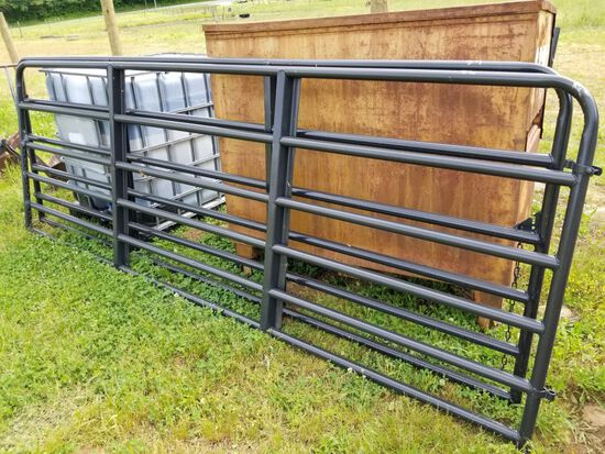 NEW 12' BLK GATE