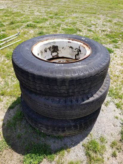 10.00-22 TIRES (3)