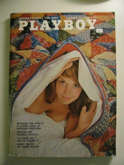 playboy magazine november