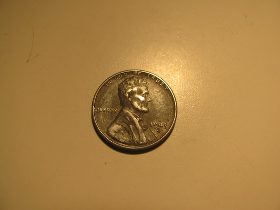 US Coins: WWII 1943-S Steel Wheat penny | Coins & Currency