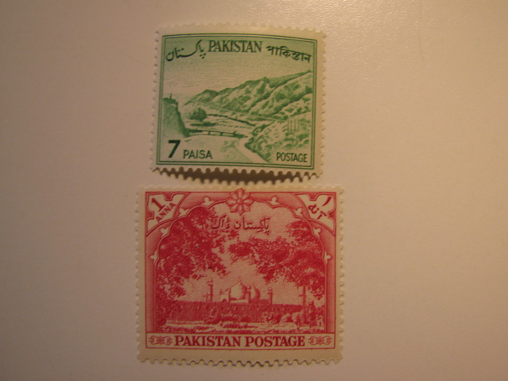 2 Pakistan Vintage Unused Stamp S Art Antiques Collectibles Stamps Auctions Online Proxibid