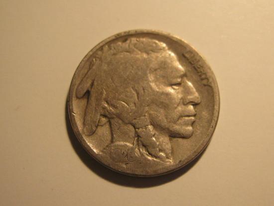 US Coins: 1928 Buffalo 5 cents
