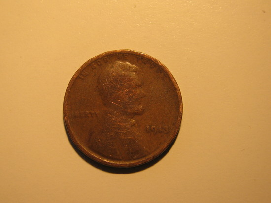 US Coins: 1x1913 Wheat penney