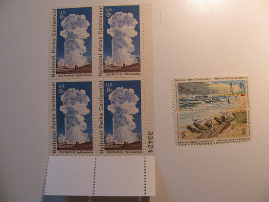 8 Vintage Unused Mint U.S. Stamps