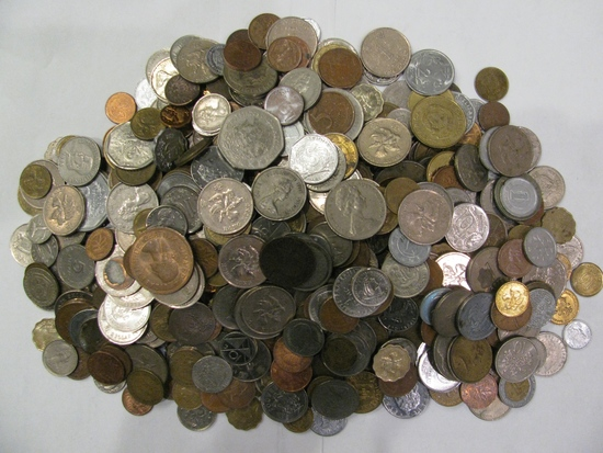 5 Lbs Bag of Foreign Coins