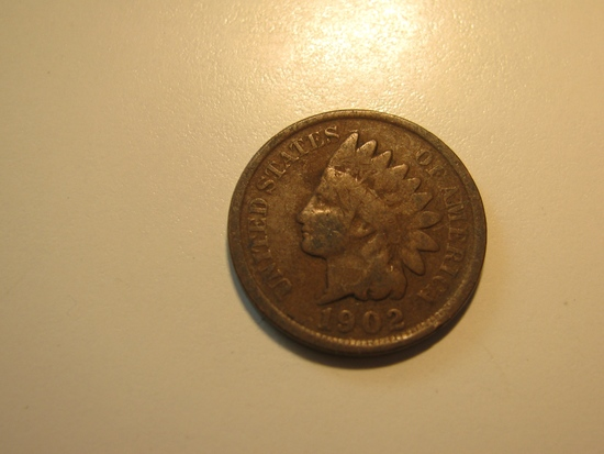 US Coins: 1902 Indian Head