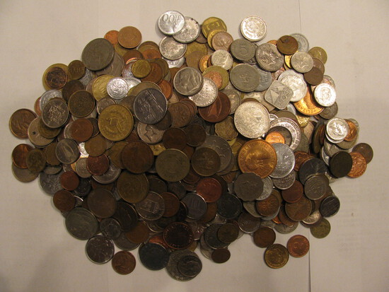 Wheat Pennies & Foreign Coins Auction