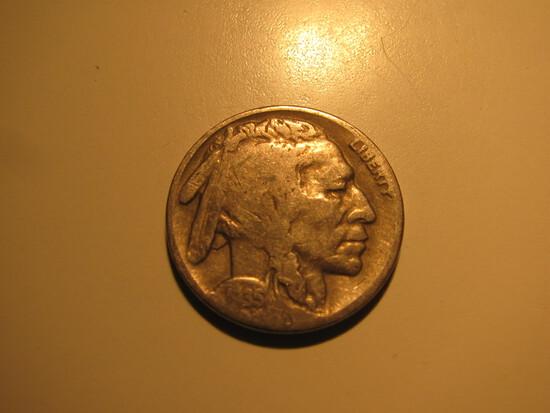 US Coins: 1x1935-S Buffalo 5 cents