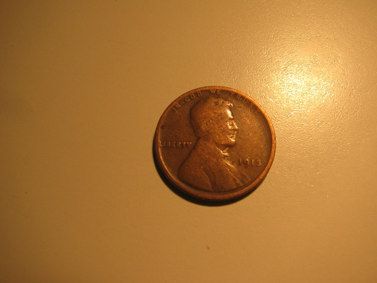 US Coins: 1913 Wheat penny