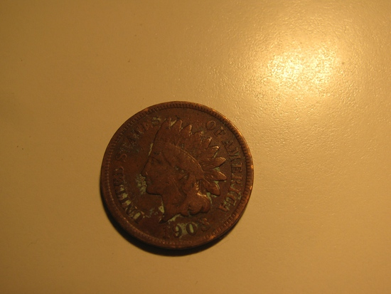 US Coins: 1903 Indian Head