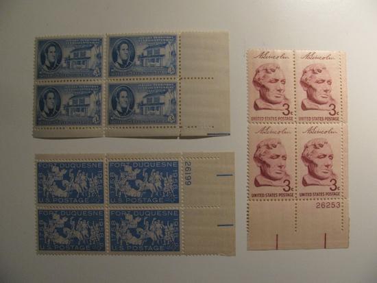 12 Vintage Unused Mint U.S. Stamps
