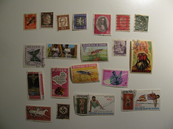 Vintage stamps set of: Germany & Guiness
