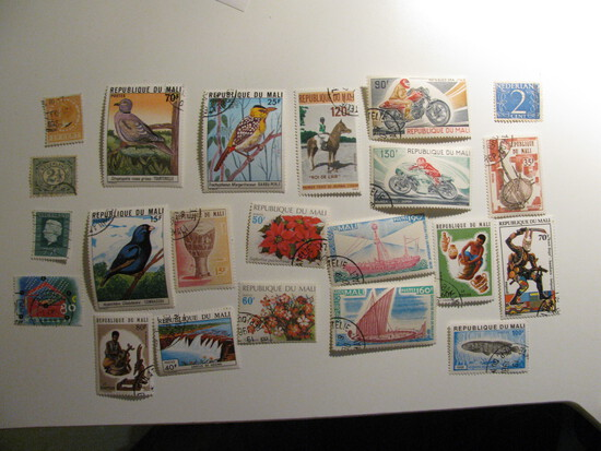 Vintage stamps set of: Netherlands & MALI