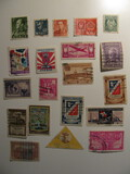 Vintage stamps set of: Norway & Dominican Republic