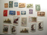 Vintage stamps set of: Israel & Haiti