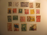 Vintage stamps set of: Belgium & Brazil
